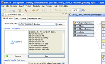 SOPERA ASF ToolSuite partial screenshot