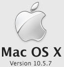 MacOSX 10.5.7