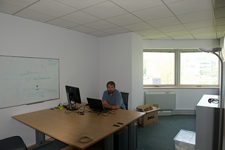 Inside office
