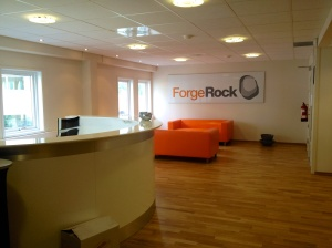Entrance of ForgeRock Oslo office