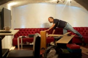 Bristol break room