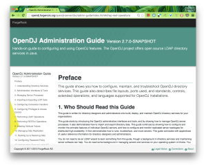 OpenDJ Administration Guide Screenshot