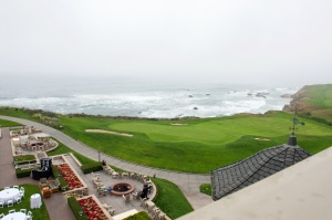 View of the ocean from Half Moon Bay