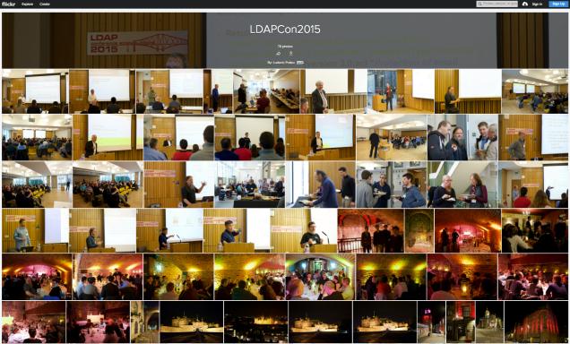 LDAPCon 2015 photo album by Ludovic Poitou