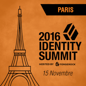 Paris Identity Summit, 15 Novembre 2016